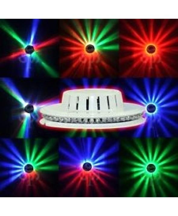 EFECTO DE LUCES LED PLANAR OVNI 8W RGB