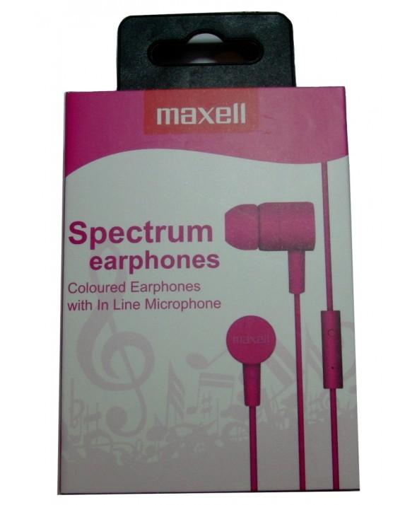 AURICULAR M/L SMARTPHONE MAXELL SPECTRUM ROSA