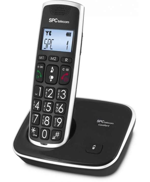 TELEFONO INALAMBRICO TELECOM 7608N NEGRO