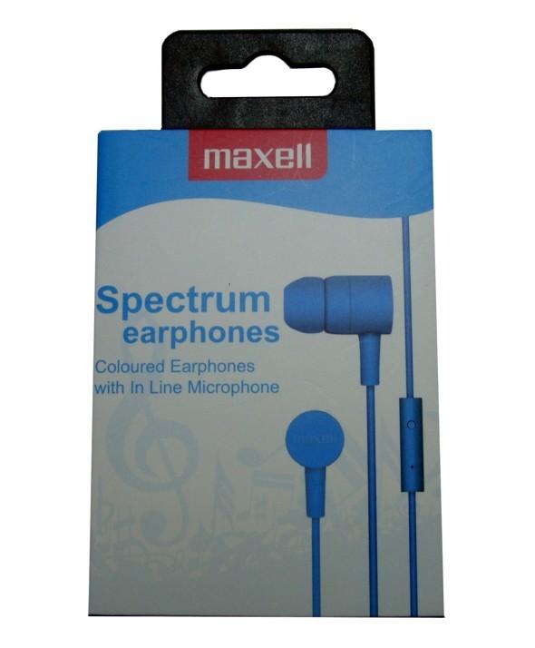 AURICULAR M/L SMARTPHONE MAXELL SPECTRUM AZUL