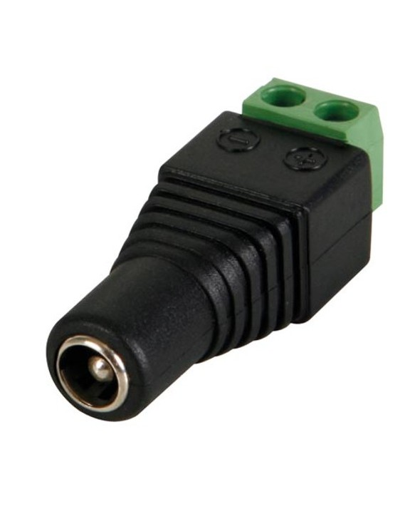 CONECTOR ALIMENTACION JACK 5.5x2.1 MACHO ATORNILLA