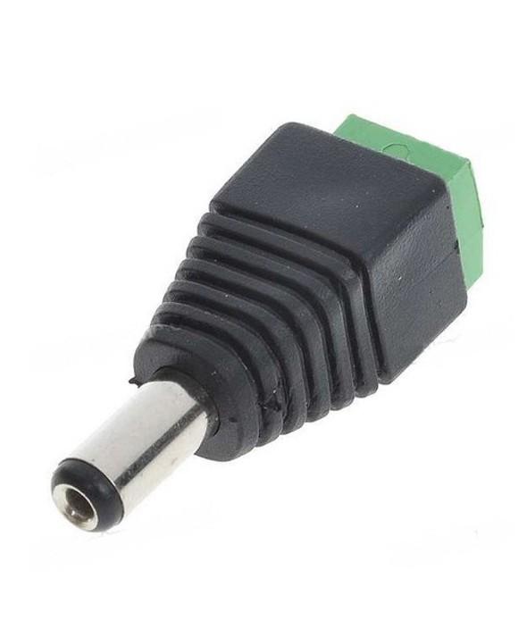 CONECTOR ALIMENTACION JACK 5.5x2.1 HEMBRA ATORNILL