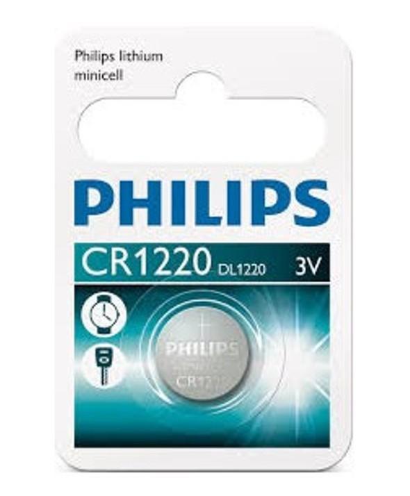 PILA LITIO CR1220 PHILIPS BLISTER DE 1