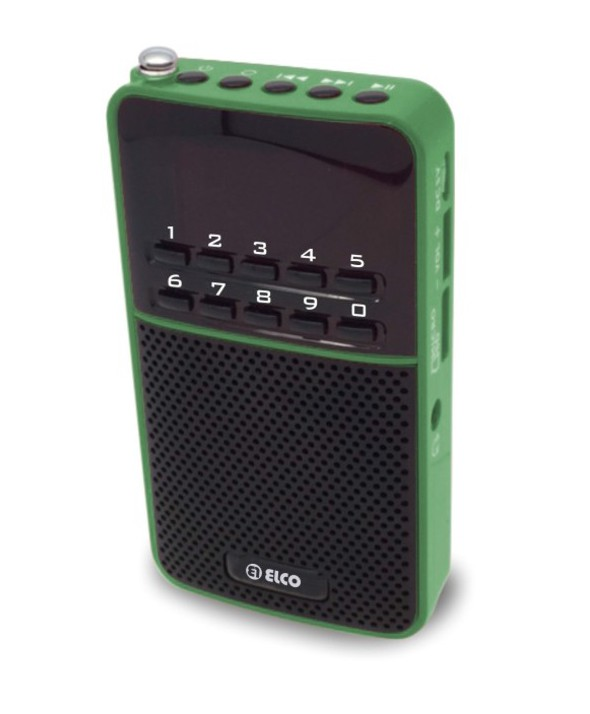 RADIO MULTIMEDIA MP3 MICRO SD ALTAVOZ ELCO
