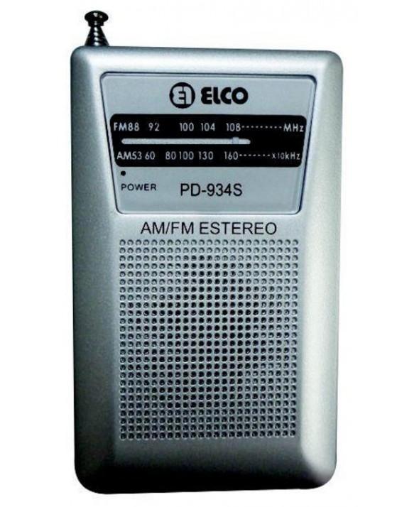 RADIO DE BOLSILLO AM/FM ALTAVOZ EXTERIOR ELCO