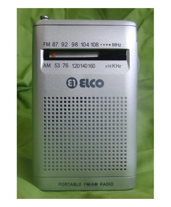 RADIO DE BOLSILLO AM/FM ALTV.EXTERIO ELCO COLORES