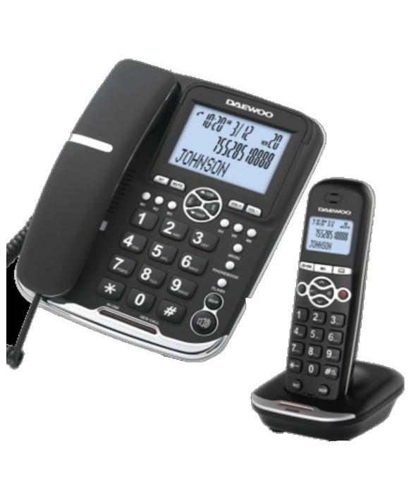 TELEFONOS DECT DAEWOO DUO BASE + INALAMBRICO