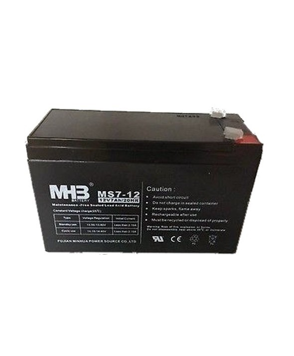 BATERIA PLOMO ACIDO 12V 7 Ah AGM(151x65x94)