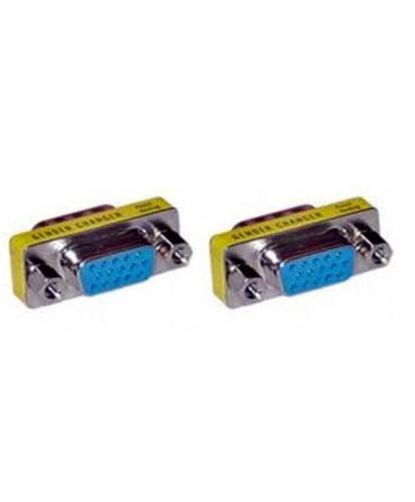 ADAPTADOR VGA HEMBRA/HEMBRA HD15