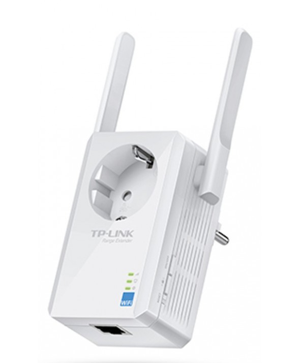 REPETIDOR WIFI N 300 Mbps UNIVERSAL MONTAJE PARED