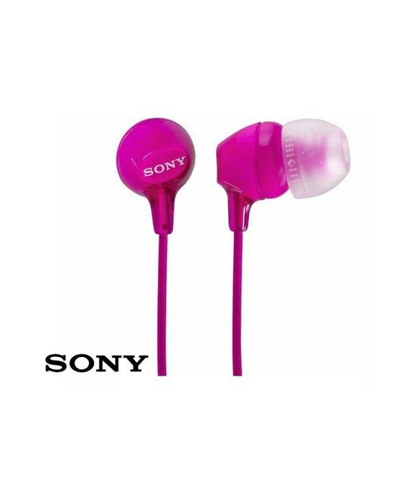 AURICULAR INTRAOIDO SONY MDREX15RS ROSA