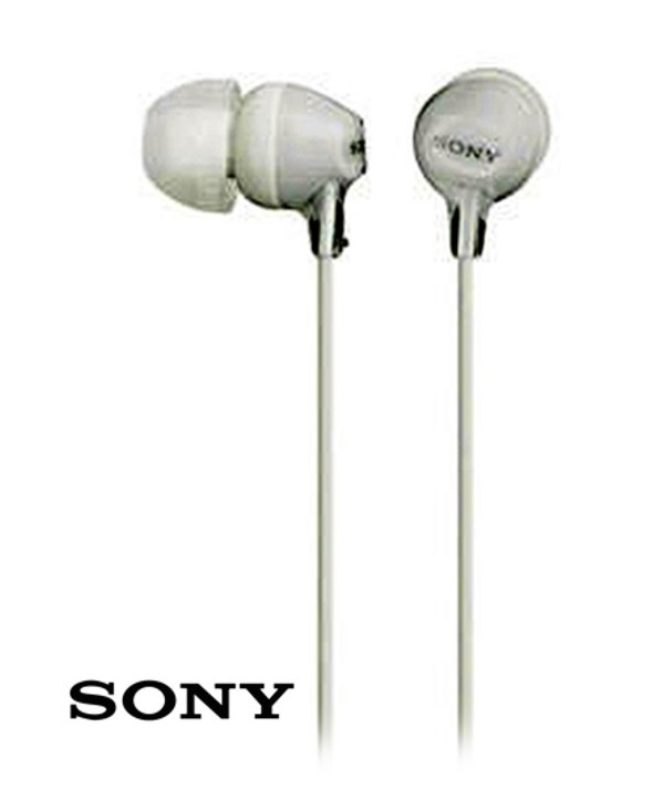 AURICULAR INTRAOIDO SONY MDREX15RS BLANCO