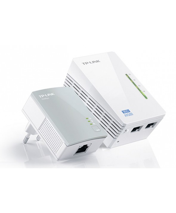 KIT EMISOR WIFFI POR RED ELECTRICA AV500 TP-LINK.