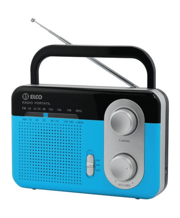 RADIO AM/FM ALTAVOZ COLORES ELCO