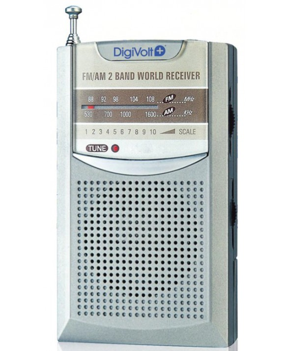 RADIO AM/FM ALTAVOZ PEQUEÑA DigiVolt