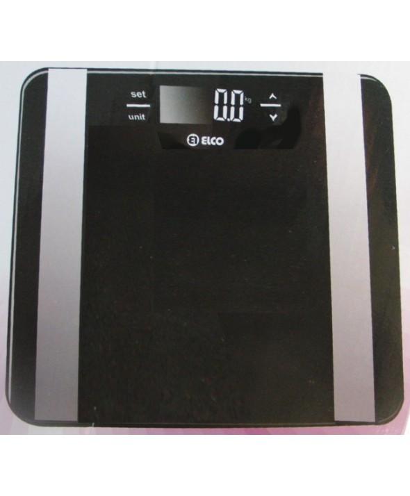 Basculas De Baño Digitales | Bascula De Bano Digital Masa Muscular Hasta 150 Kg Elco Dlplus
