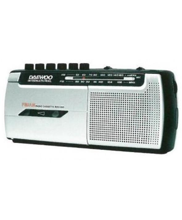 RADIO AM/FM CON CASSETTE GRABADOR DAEWOO