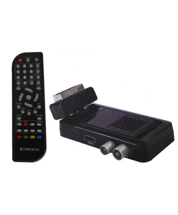 TDT MINI USB ARTICULADO USB GRABADOR HIPPO HD T2