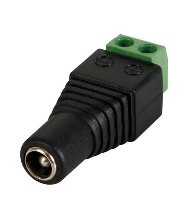CONECTOR ALIMENTACION JACK 5.5x2.5 MACHO ATORNILLA