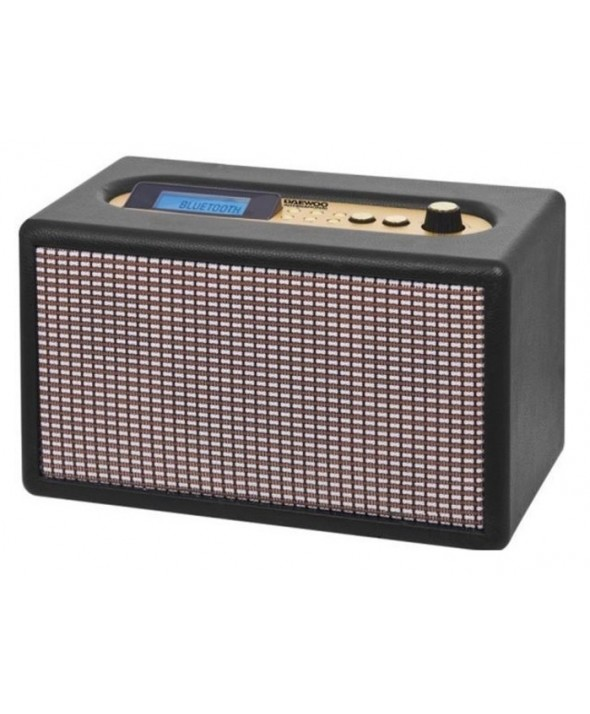 RADIO DESPERTADOR RETRO MULTIMEDIA BT 20W DAEWOO