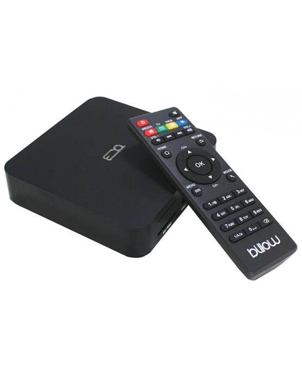 SMART TV BOX ANDROID 8GB, QUAD CORE 4K BILLOW