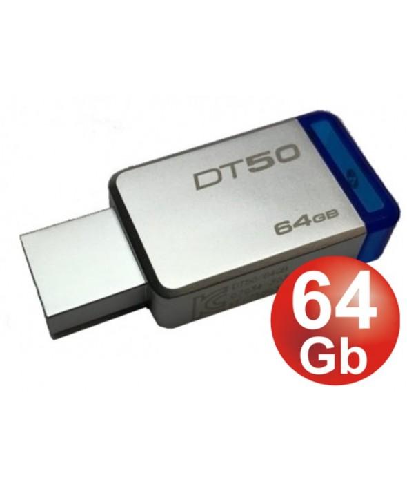 PEN DRIVER 64 Gb DATATRAVELER 50 3.1 KINGSTON
