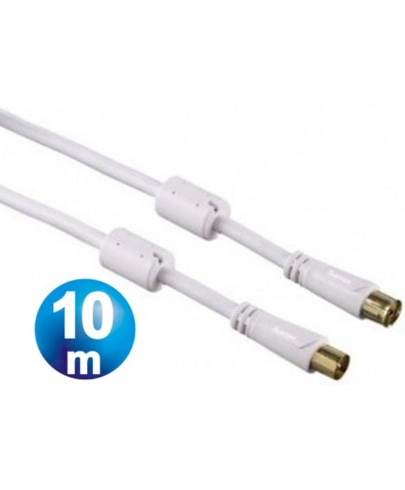 CONEXION TV M/H 100 hz TDT FILTROS 10m BLANCA