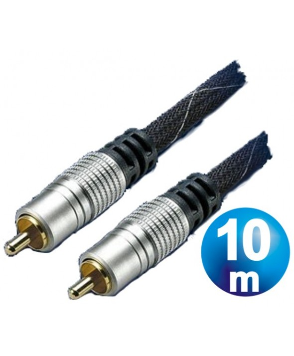 CONEXION VIDEO RCA M/M VIDEO HT 75 OHM 10m