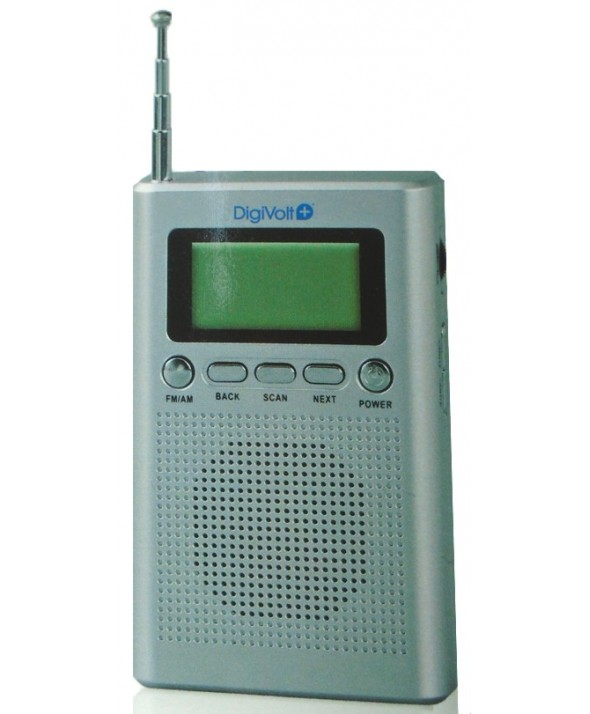 RADIO DIGITAL AM/FM ALTAVOZ DigiVolt