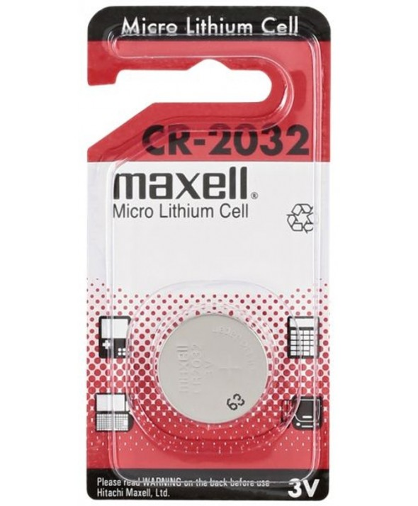 PILA LITIO CR2032 MAXELL MXL B1