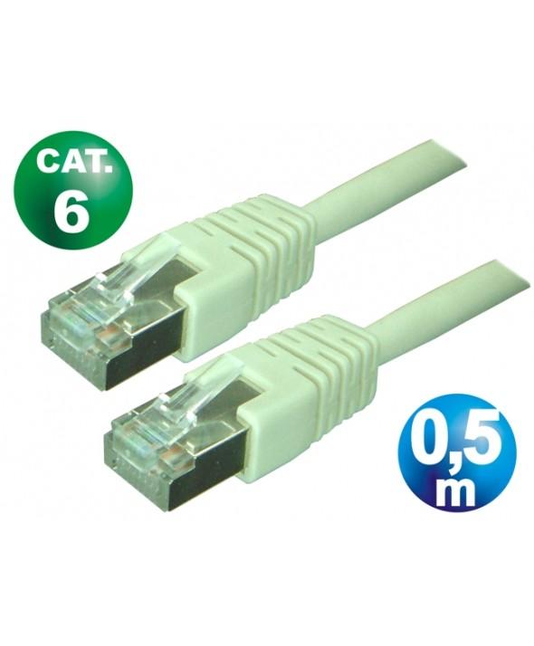 CONEXION TELEFONICA M/M RJ45 8p8c CAT.6 0.5 METROS