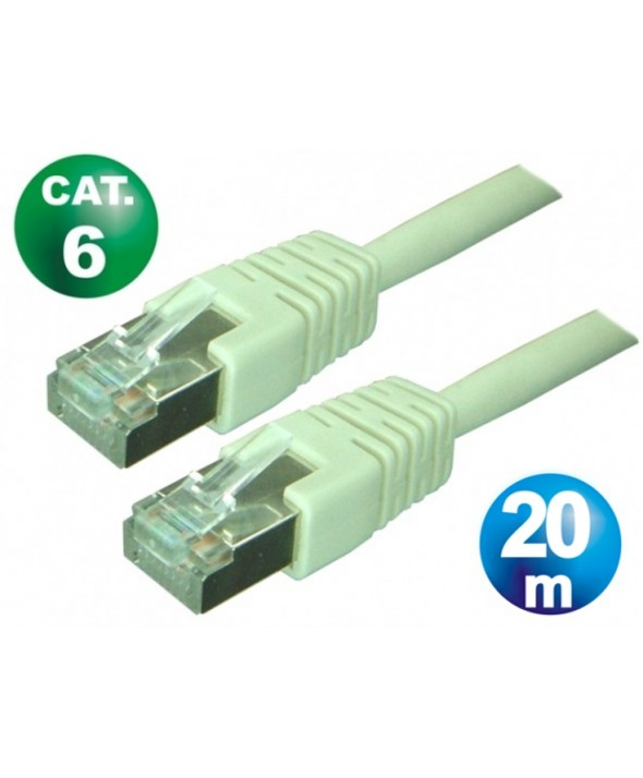 CONEXION TELEFONICA M/M RJ45 8p8c CAT.6 20 METROS