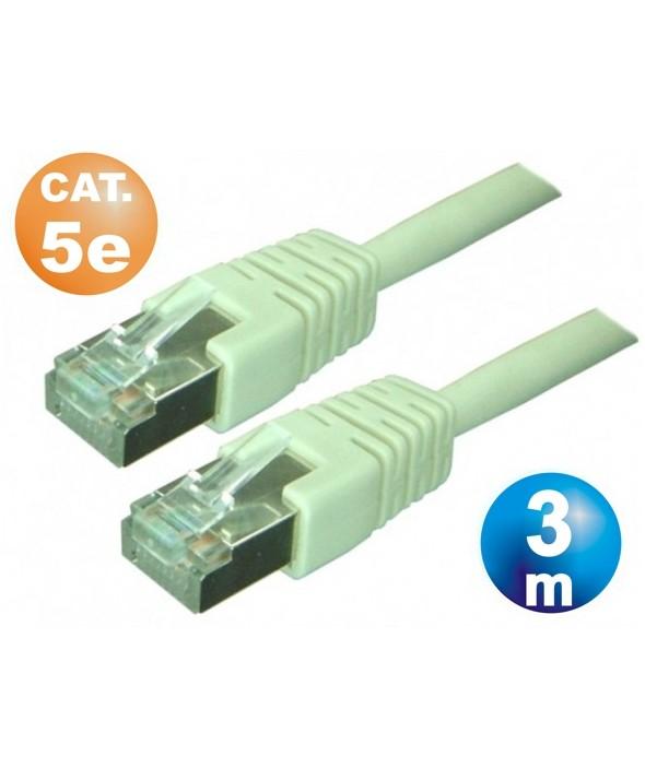 CONEXION TELEFONICA M/M RJ45 8p8c CAT.5e 3 METROS