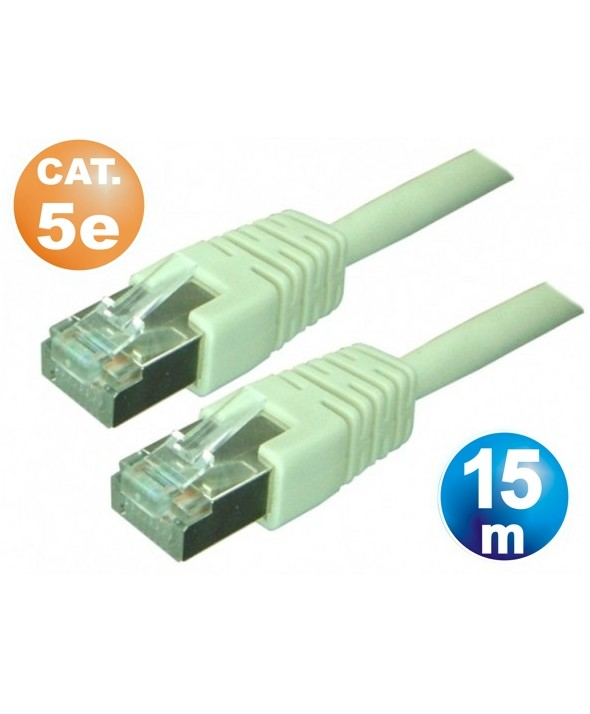 CONEXION TELEFONICA M/M RJ45 8p8c CAT.5e 15 METROS