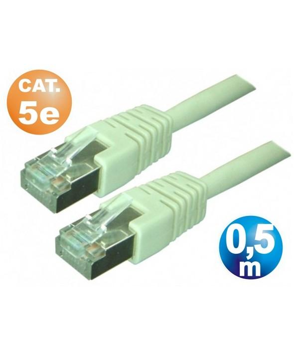 CONEXION TELEFONICA M/M RJ45 8p8c CAT.5e 0.5 METROS
