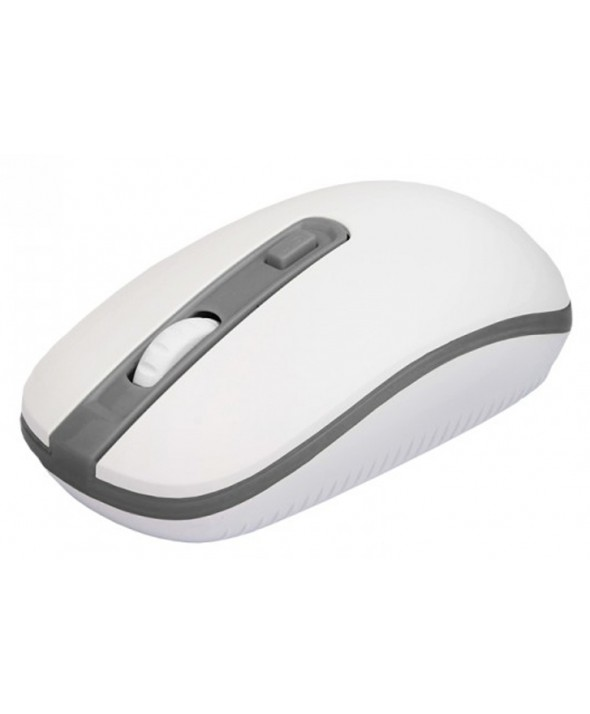 RATON OPTICO Usb WIRELESS 2.4GHz BLANCO/GRI APPROX