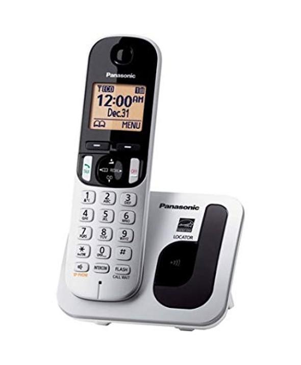 TELEFONO INALAMBRICO PANASONIC KX TGC210 PLATA