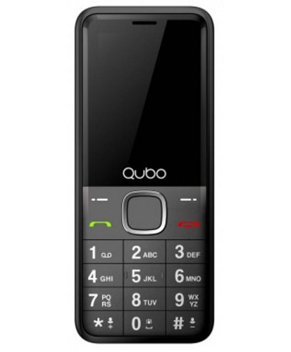 TELEFONO MOVIL QUBO XEUS NEGRO