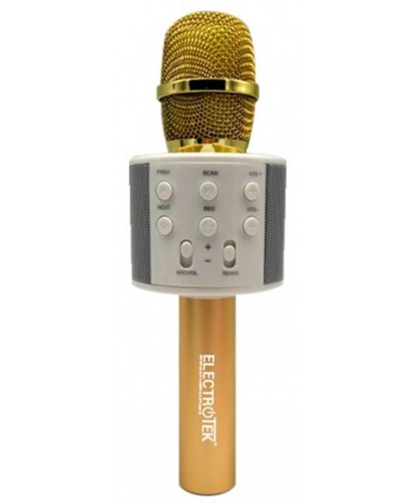 MICROFONO ALTAVOZ MULTIMEDIA ELECTROTEK GOLD