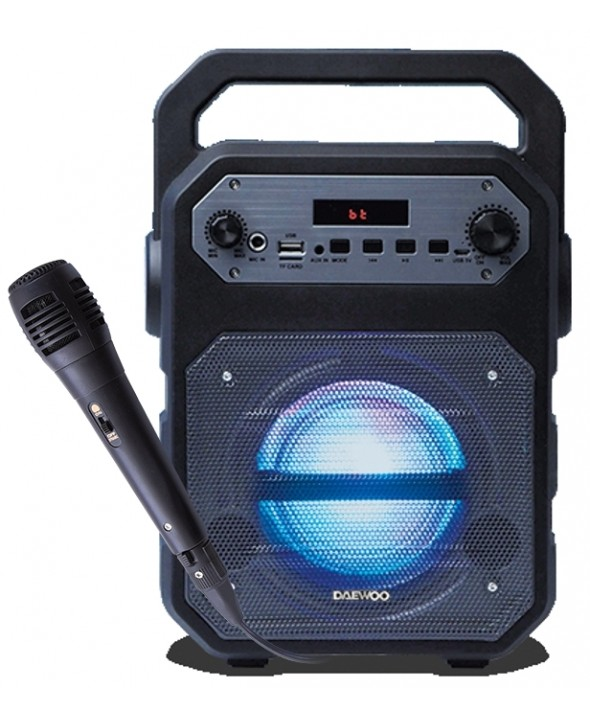 ALTAVOZ KARAOKE MULTIMEDIA BT+Usb-SD+RADIO DAEWOO