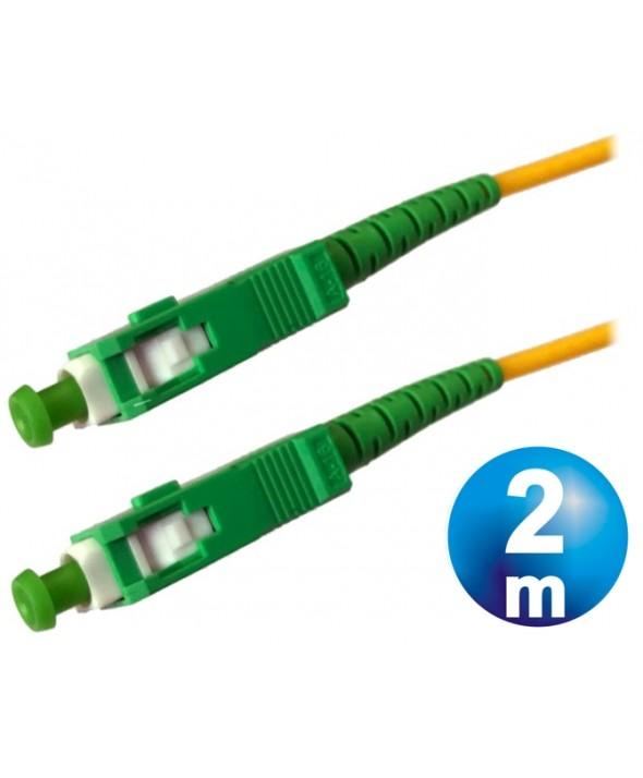 CONEXION FIBRA OPTICA DATOS SC-SC M/M CABLE 2 m