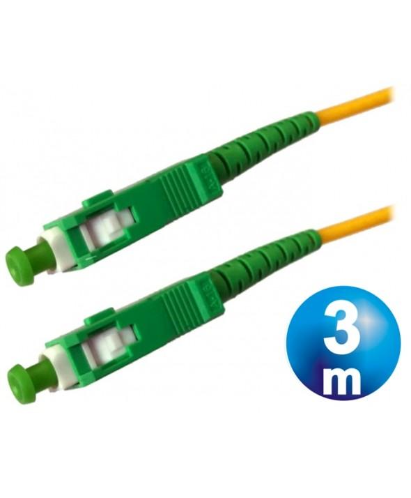CONEXION FIBRA OPTICA DATOS SC-SC M/M CABLE 3 m