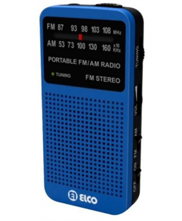 RADIO AM/FM ALTAVOZ Y AURICULARES COLORES ELCO