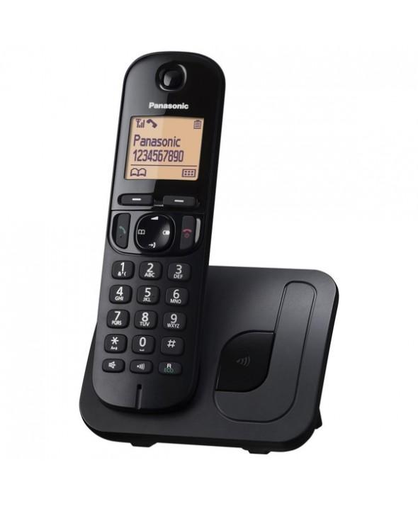 TELEFONO INALAMBRICO PANASONIC KX TGC210 NEGRO