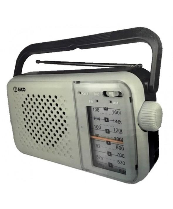 RADIO PORTATIL AM/FM PILAS Y RED PD985 ELCO