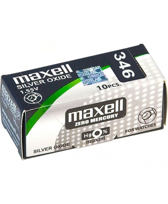 PILA Ox DE PLATA 1.55V (SR712SW) 346 MAXELL
