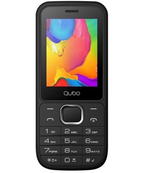 "TELEFONO MOVIL QUBO 2.4"" 2G APOLO NEGRO"
