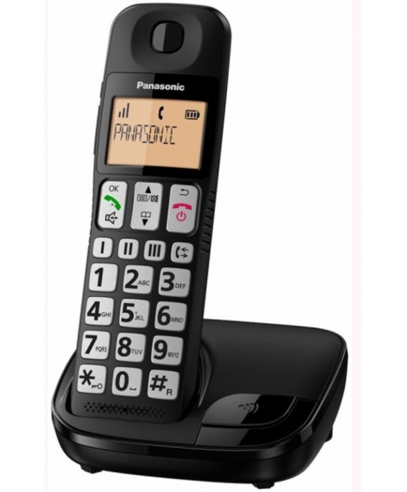 TELEFONO INALAMBRICO PANASONIC KX TGE310 NEGRO