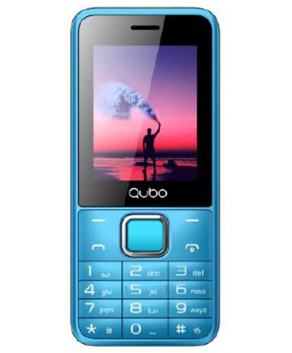 "TELEFONO MOVIL QUBO 2.4"" 2 SIMM 32Mb 2500mAH AZUL"