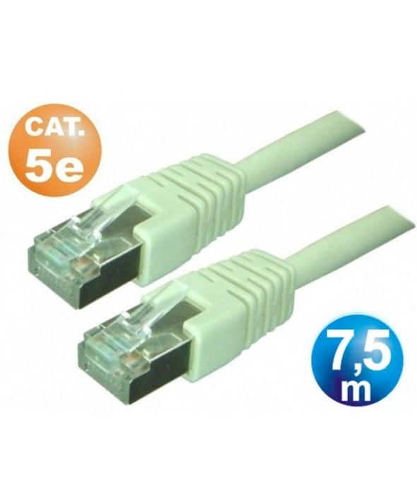 CONEXION TELEFONICA M/M RJ45 8p8c CAT.5e 7,5 METROS